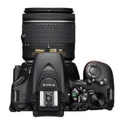Fotocamera reflex D5600 kit afp 18-55 Nero- nikon - monclick.it