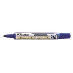 Marqueur Pentel Maxiflo - Marqueur - permanent - bleu - encre à base d'alcool - 4.5 mm