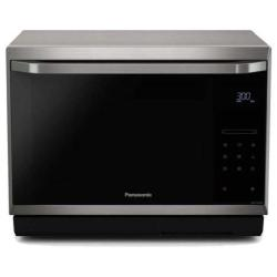 Micro ondes Panasonic NN-CS894S - Four micro-ondes combiné - grill - pose libre - 32 litres - 1000 Watt - inox