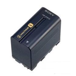 Batterie Sony NP-F970 - Batterie de caméscope Li-Ion 6600 mAh - pour Sony HVR-V1P, Z7J, HXR-MC2500; NXCAM HXR-NX100, NX5R, NEX-FS100, FS700; XDCAM PXW-Z150