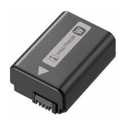 Batterie Sony NP-FW50 - Pile pour appareil photo 1 x Li-Ion 1080 mAh - pour Hasselblad Lunar; Cyber-shot DSC-RX10; a3500; a6000; a6300; a6500; a7 II; a7R II; a7s II