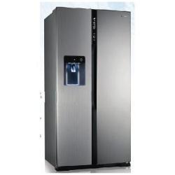 Réfrigérateur Panasonic NR-B53V2-XE - Réfrigérateur/congélateur - pose libre - largeur : 92 cm - profondeur : 71 cm - hauteur : 186 cm - 530 litres - Américain avec Distributeur d'eau et de glaçons - Classe A++ - inox