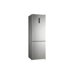 Réfrigérateur Panasonic NR-BN31AX1-E - Réfrigérateur/congélateur - pose libre - largeur : 64 cm - profondeur : 75 cm - hauteur : 191 cm - 307 litres - congélateur bas - Classe A++ - inox