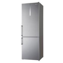 Réfrigérateur Panasonic NR-BN31EX1 - Réfrigérateur/congélateur - pose libre - largeur : 60 cm - profondeur : 63.3 cm - hauteur : 185 cm - 303 litres - congélateur bas - Classe A+++ - inox