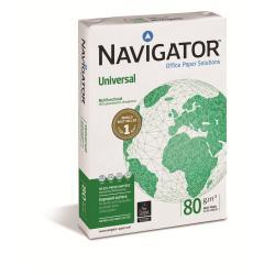 Papier Navigator Universal - 110 microns - blanc - A3 (297 x 420 mm) - 80 g/m² - 500 feuille(s) papier ordinaire (pack de 5)