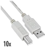 Câble Nilox - Nilox - Câble USB - USB Type B...