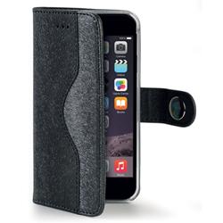Housse CELLY ONDA ONDAIPH6BK - Coque de protection pour téléphone portable - synthétique - noir - pour Apple iPhone 6