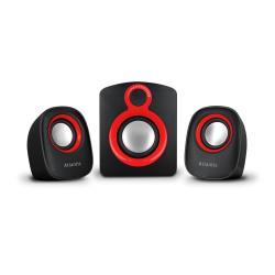 Enceinte PC Atlantis Land Linea Premium Soundmaster 900 - Système de haut-parleur - pour PC - Canal 2.1 - 7 Watt (Totale)