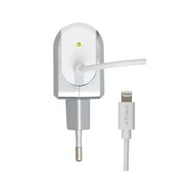 Chargeur PNY Lightning Charger - Adaptateur secteur - 12 Watt - 2.4 A (Lightning) - Union européenne - pour Apple iPad/iPhone/iPod (Lightning)