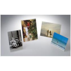 TECNOSTYL - Présentoir - bureau - pour 130 x 180 mm - clair