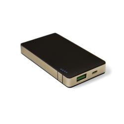 Chargeur CELLY - Banque d'alimentation 4000 mAh - 1.5 A (USB (alimentation uniquement)) - aluminium or