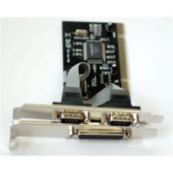 Carte PCI Nilox PCI-2SER1PAR - Adaptateur série/parallèle - PCI - série - 2 ports + 1 port parallèle