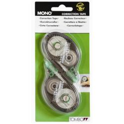 Tombow MONO - Rouleau correcteur - 4.2 mm x 10 m (pack de 2)