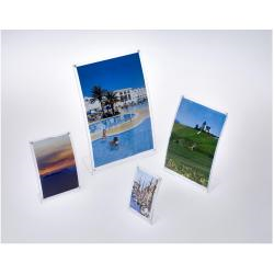 TECNOSTYL - Porte-photos - A4 - plexiglas - rectangulaire
