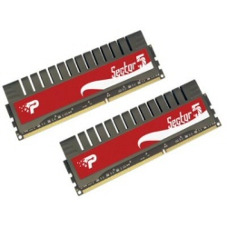 Barrette RAM Patriot Extreme Performance Sector 5 G Series - DDR3 - 4 Go : 2 x 2 Go - DIMM 240 broches - 2000 MHz / PC3-16000 - CL9 - 1.65 V - mémoire sans tampon - non ECC
