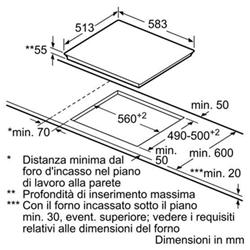 Piano cottura Bosch - Pic645f17e