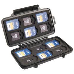 Sacoche Peli 0915 - Boîtier de protection pour cartes SD - polycarbonate ABS - noir