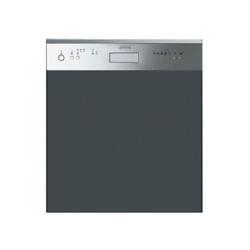 Lave-vaisselle intégrable Smeg PL521B - Lave-vaisselle - intégrable - Niche - largeur : 60 cm - profondeur : 57.5 cm - hauteur : 82 cm