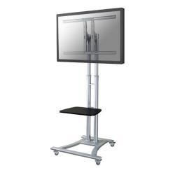 """Support pour LCD NewStar Mobile Monitor/TV Floor Stand PLASMA-M1800E - Pied pour écran plasma - argenté(e) - Taille d'écran : 27""""-60"""" - au sol"""