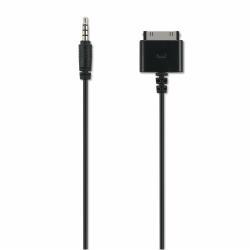 Adaptateur Philips PicoPix PPA1160 - Câble vidéo/audio - vidéo / audio composite - Apple Dock (M) pour mini jack 4 pôles (M) - 1 m - pour Apple iPad/iPhone/iPod (Apple Dock)
