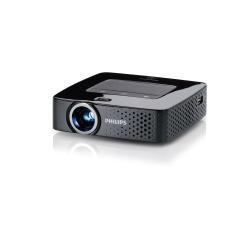 Vidéoprojecteur Philips PicoPix PPX 3614 - Projecteur DLP - 140 lumens - WVGA (854 x 480) - 16:9