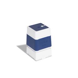 Tampon Brother 4040 - Tampon - pré-encré - bleu - texte personnalisé - 40 x 40 mm ( pack de 12 )