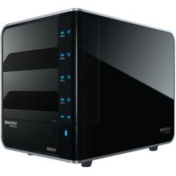 Serveur de stockage en réseau Promise SmartStor DS4600 - Baie de disques - 4 Baies ( SATA-300 ) - 0 x HDD - FireWire 800, USB 2.0, SATA 3Gb/s, FireWire 400 (externe)
