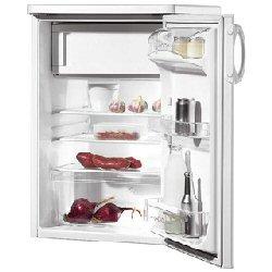 Réfrigérateur Zoppas PT 16 R - Réfrigérateur avec compartiment freezer - pose libre - largeur : 55 cm - profondeur : 60 cm - hauteur : 85 cm - 140 litres - classe A - blanc