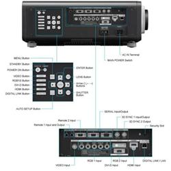 Videoproiettore Panasonic - Pt-dx100e