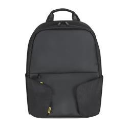 """Sacoche Toshiba CoRace - Sac à dos pour ordinateur portable - 16"""" - Noir avec des touches jaunes - pour Satellite C50, C55, L50, M50, P50, Z30; Satellite Pro A30, A50, R50; Tecra A50, Z50"""