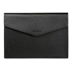 """Sacoche Toshiba Ultrabook Sleeve - Housse d'ordinateur portable - 13.3"""" - argent avec ligne de contour - pour Portégé A30, Z30, Z30T; Satellite Z30, Z30t"""