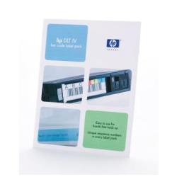Étiquettes HPE DLT IV Bar Code Label Pack - Étiquettes code à barres - pour StorageWorks ESL9595, MSL5026, SSL1016; SureStore DLT