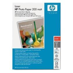 Papier HP - Papier photo - mat - A4 (210 x 297 mm) - 200 g/m² - 100 feuille(s) - pour LaserJet Enterprise 600 M601; LaserJet Pro 400 M401, MFP M175, MFP M26, MFP M274, MFP M277