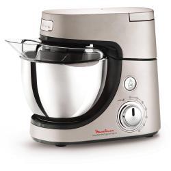 Robot de cuisine Moulinex Masterchef Gourmet QA603H - Robot pâtissier - 900 Watt - inox