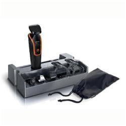 Tondeuse à barbe Philips Multigroom Grooming Kit QG3340 - Tondeuse - sans fil - noir/gris