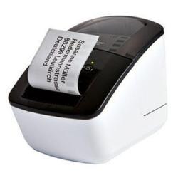 Étiqueteuse Brother QL-710W - Imprimante d'étiquettes - papier thermique - rouleau (6,2 cm) - 300 x 720 dpi - jusqu'à 93 étiquettes/minute - USB, Wi-Fi(n)