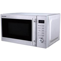 Micro ondes Sharp R-60STW - Four micro-ondes grill - pose libre - 20 litres - 800 Watt - inox