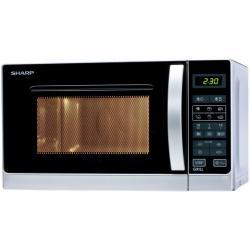 Micro ondes Sharp R-642(IN)W - Four micro-ondes grill - pose libre - 20 litres - 800 Watt - argenté(e)
