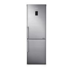 Réfrigérateur Samsung Smart RB31FEJNBSS - Réfrigérateur/congélateur - pose libre - largeur : 59.5 cm - profondeur : 73.1 cm - hauteur : 185 cm - 304 litres - congélateur bas - Classe A+++ - inox brillant