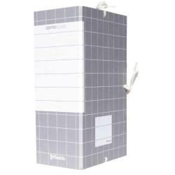 Boîte à archive Resisto CENTRO CLASS - Classeur à attaches - 150 mm - 350 x 250 mm - gris