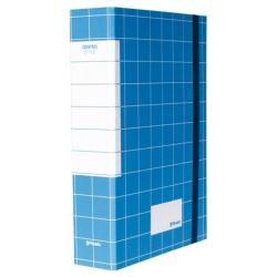 Porte-documents Resisto CENTRO STYLE - Chemise à 3 rabats - 50 mm - bleu