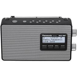 Radio Panasonic-RF-D10EG - Radio portative DAB - 2 Watt - noir