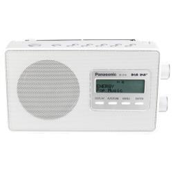 Radio Panasonic-RF-D10EG - Radio portative DAB - 2 Watt - blanc