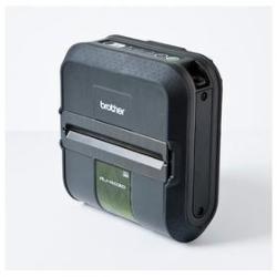 Imprimante photo Brother RuggedJet RJ-4040 - Imprimante d'étiquettes - papier thermique - Rouleau (11,8 cm) - 203 x 200 dpi - jusqu'à 127 mm/sec - USB, série, Wi-Fi(n)