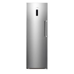 Réfrigérateur Hisense RL475N4AS1 - Réfrigérateur - pose libre - largeur : 59.5 cm - profondeur : 71.2 cm - hauteur : 185.5 cm - 360 litres - classe A+ - inox
