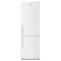 Réfrigérateur Electrolux RN 3610 AOW - Réfrigérateur/congélateur - pose libre - largeur : 60 cm - profondeur : 66 cm - hauteur : 186 cm - 337 litres - congélateur bas - classe A+ - blanc