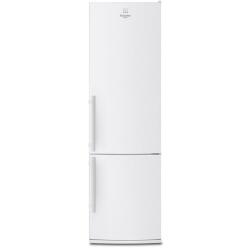 Réfrigérateur Electrolux RN 3851 AOW - Réfrigérateur/congélateur - pose libre - largeur : 60 cm - profondeur : 66 cm - hauteur : 202 cm - 382 litres - congélateur bas - Classe A++ - blanc