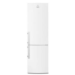 R�frig�rateur Electrolux RN3853MOW - R�frig�rateur/cong�lateur - pose libre - largeur : 59.5 cm - profondeur : 64.7 cm - hauteur : 200.5 cm - 357 litres - cong�lateur bas - Classe A++ - blanc