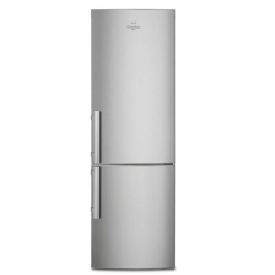 Réfrigérateur Electrolux RN3853MOX - Réfrigérateur/congélateur - pose libre - largeur : 59.5 cm - profondeur : 64.7 cm - hauteur : 200.5 cm - 357 litres - congélateur bas - Classe A++ - inox