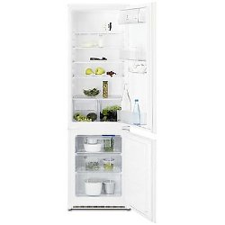 Réfrigérateur encastrable Electrolux RNN2801AOW - Réfrigérateur/congélateur - intégrable - 277 litres - congélateur bas - classe A+ - blanc